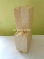 Glued laminated veneer lumber