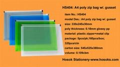 HS404 zipper bag