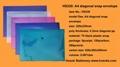 HS330 A4 diagonal snap envelope