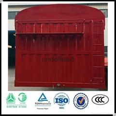 stake transport semi trailer