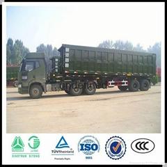 dump rear tipping semi trailer