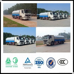 8 cubic Water tank truck