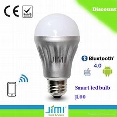 led light JL08 bluetooth led bulb JIMI made