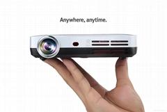 Q Shot3 Android mini 3D led  Portable Projector