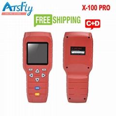 OBDSTAR X100 Pro Key Programmer X-100 PRO Programmer C+D Type for IMMO+Odometer+