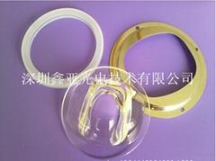 集成COB路燈20W 30W 50W 100W W120W玻璃透鏡