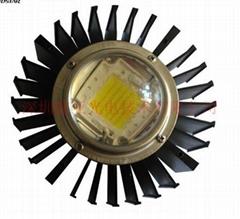 90度120度工矿灯玻璃透镜