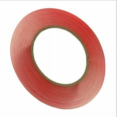 3mm x 36yd roll of Premium Red Tape™ Universal Adhesive