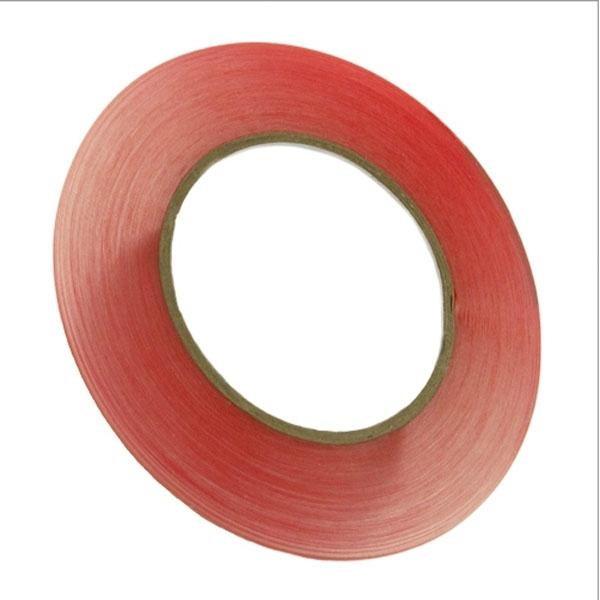 6mm x 36yd roll of Premium Red Tape Universal Adhesive 1