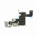 For iPhone 6 Dock Port & Headphone Jack Flex Cable Replacement - Black
