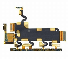 Sony Xperia Z1 L39h C6902 C6903  Motherboard Power Volume Microphone Flex Cable