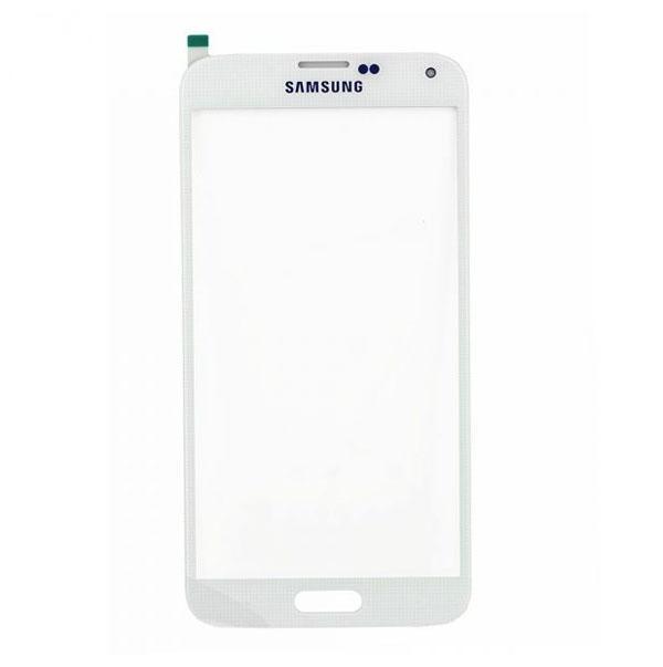 Samsung Galaxy S5 G900 Front Glass Lense-White