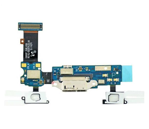 Samsung Galaxy S5 G900P Charging Port Flex Cable