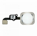 iPhone 6 Home Button Assembly - Silver