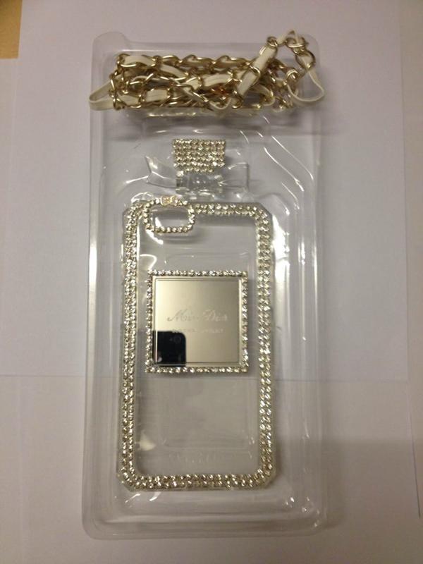 Perfume Bottle Chain case Handbag TPU diamond Bling Cover for iPhone Samsung 6