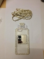 Perfume Bottle Chain case Handbag TPU diamond Bling Cover for iPhone Samsung 7
