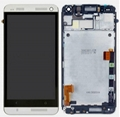 HTC One M7 HTC 801e LCD digitizer with frame