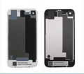 iPhone 4 4S Glass Back Cover  Battery Housing Door Cover