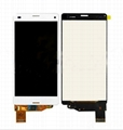 Touch Digitizer LCD Display for Sony