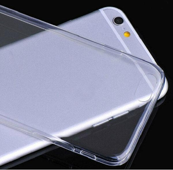 Crystal TPU Clear Transparent Back Cover Case for iphone 6 6G / 6+ Plus 5 5S 5C 5