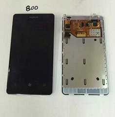 Touch Digitizer LCD Display for Nokia 800 Hot Sale