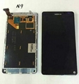 Touch Digitizer LCD Display for Nokia N9