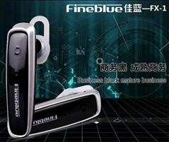 Very Smart Cute Bluetooth Wireless Headset Jet Black