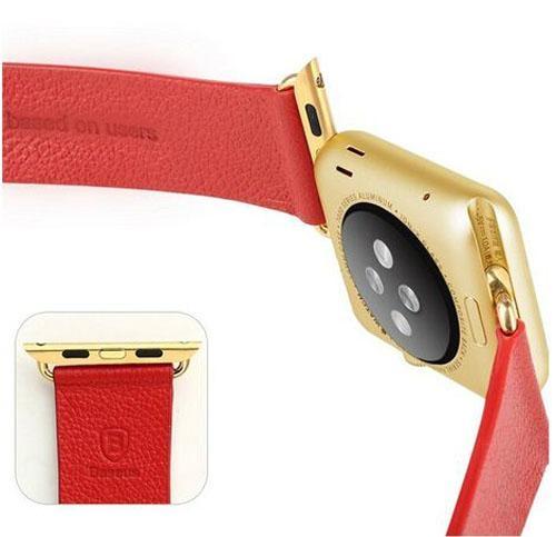 For Apple Watch Genuine Baseus Leather Strap Buckle 38mm #Baseus 11