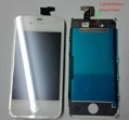 Touch Digitizer LCD Display For iPhone 4S White