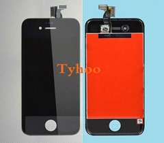 Apple iPhone 4S LCD Screen Digitizer Assembly with Frame Black