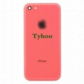 Pink Back Housing Replacement Battery Case Cover Rear Frame For iPhone 5C