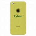 Yellow Back Housing Replacement Battery Case Cover Rear Frame For iPhone 5C