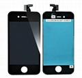 Touch Digitizer LCD Display For iPhone 4S  Black
