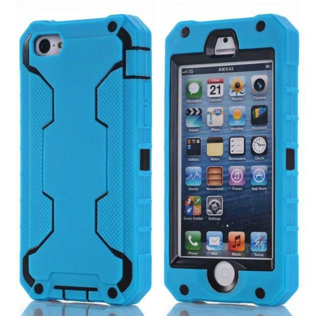 Robot Cases for iPhone 5S 5C Samsung S5 S6 S6 Edge 7