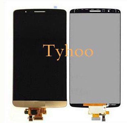 Touch Digitizer LCD Display for LG G3 D850/D851/D852/D855 Gold  1