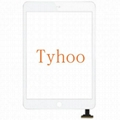 Front Panel Touch Screen Glass Digitizer for iPad Mini 1&2 + IC White