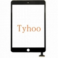 Touch Screen Digitizer Front Glass for iPad Mini 1&2 Panel Replacement Black