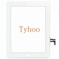 Glass Touch Screen Digitizer+ Adhesive For iPad Air 5 Generation Gen White
