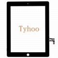 Glass Touch Screen Digitizer+ Adhesive For iPad Air 5 Generation Gen Black