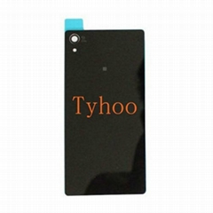 Back  Cover Glass for Sony Xperia Z2 L50W D6503 D6502 D6543  Black
