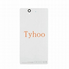 Back Cover Glass for Sony Xperia Z2 L50W D6503 D6502 D6543 White
