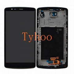 Touch Digitizer LCD Display with Frame for LG G3 D850/D851/D852/D855 Black