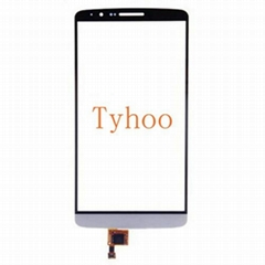 Glass Touch Screen Digitizer for LG G3 D850/D851/D852/D855 White & Glod