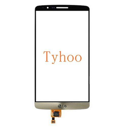 Glass Touch Screen Digitizer for LG G3 D850/D851/D852/D855 White & Glod 2