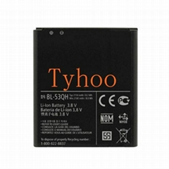 2100 mAh Battery Pack for LG Spirit 4G - MS870/LW870