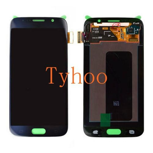 Touch Digitizer LCD Display Assembly for Samsung Galaxy S6 Edge Black 1