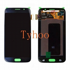 Touch Digitizer LCD Display Assembly for Samsung Galaxy S6 Edge Black