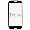 Glass Screen for Samsung Galaxy S3 i9300 i747 T999 - White/Black/Gray