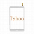 """Glass Touch Screen Digitizer for 8"""" Galaxy Tab 4  T331- Black/White 2"""