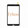 """Glass Touch Screen Digitizer for 8"""" Galaxy Tab 4  T331- Black/White"""